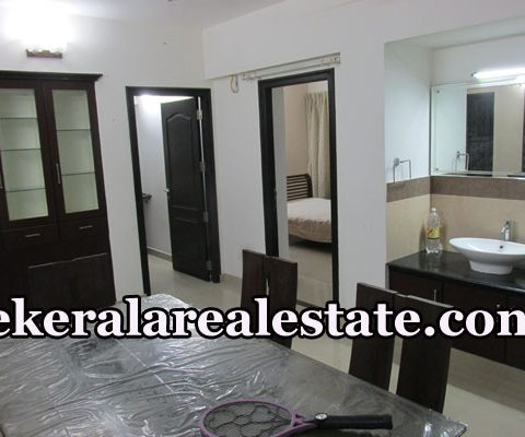 Furnished 3 Bhk Flat Rent at Pettah Anayara Trivandrum  (1)