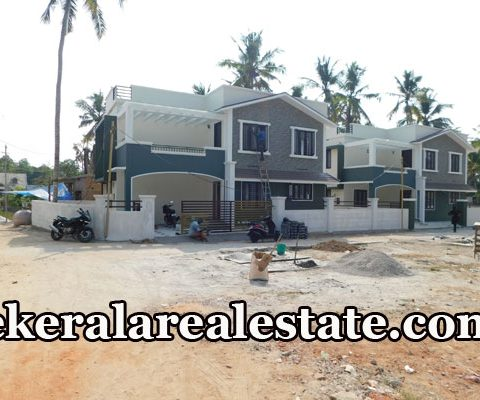 Ready To Occupy 3-4 BHk Independent Villas Sale at Chanthavila Kazhakuttom
