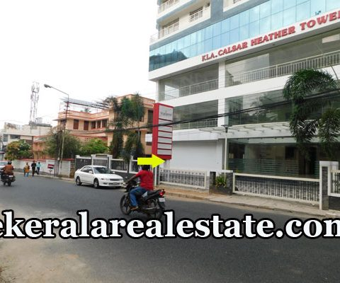 Commercial Building Showroom Office Space Rent at Statue Trivandrum