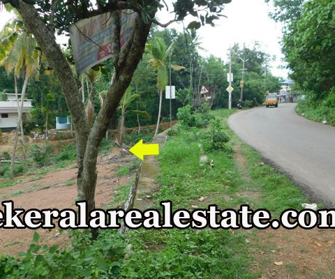 13.5 Cents Main Road Frontage Land Sale at Kochalumoodu Korani Attingal