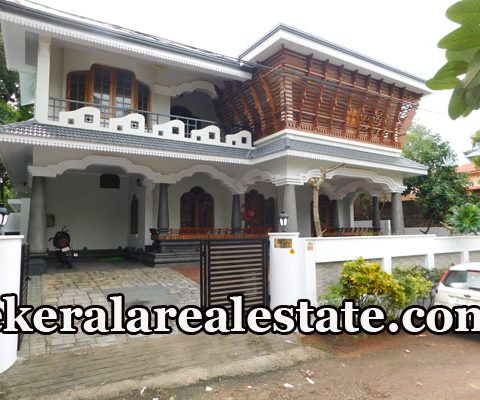 9.6 Cents 4050 Sqft 4 BHk House Sale at Mukkola Mannanthala Close to St Thomas School Trivandrum