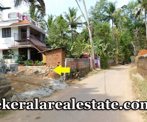 Land Sale at Kundamankadavu Thirumala Trivandrum