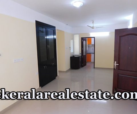 3 BHk Semi Furnished Flat For Rent at Akkulam Near NISH Trivandrum