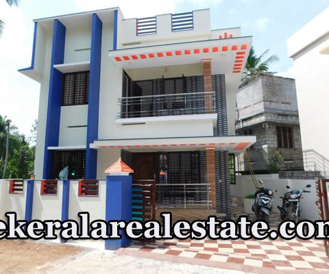 60 Lakhs 3.5 Cents 1500 Sqft New House For Sale at Mangattukadavu Thirumala