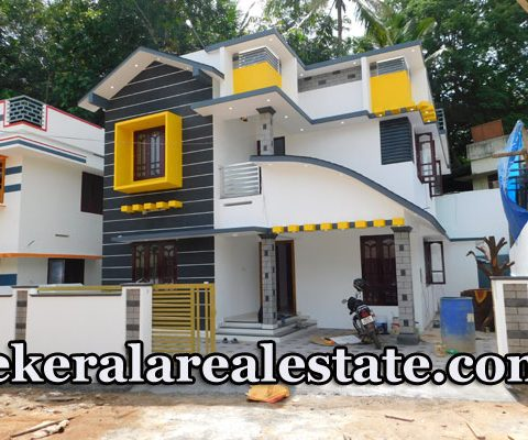 57 Lakhs 3.9 cents 1650 sq ft New House Sale at Pidaram Thirumala Trivandrum