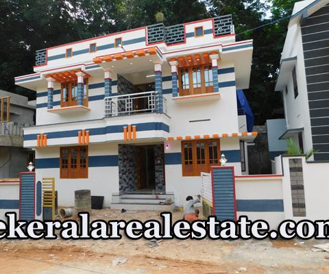 60 Lakhs 4 cents 1800 sqft New House For Sale at Pidaram Near Thirumala Trivandrum