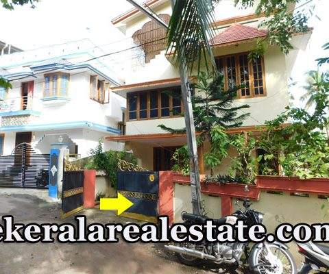 Independent 3 BHk Furnished House For Rent at Kannammoola Medical College Trivandrum